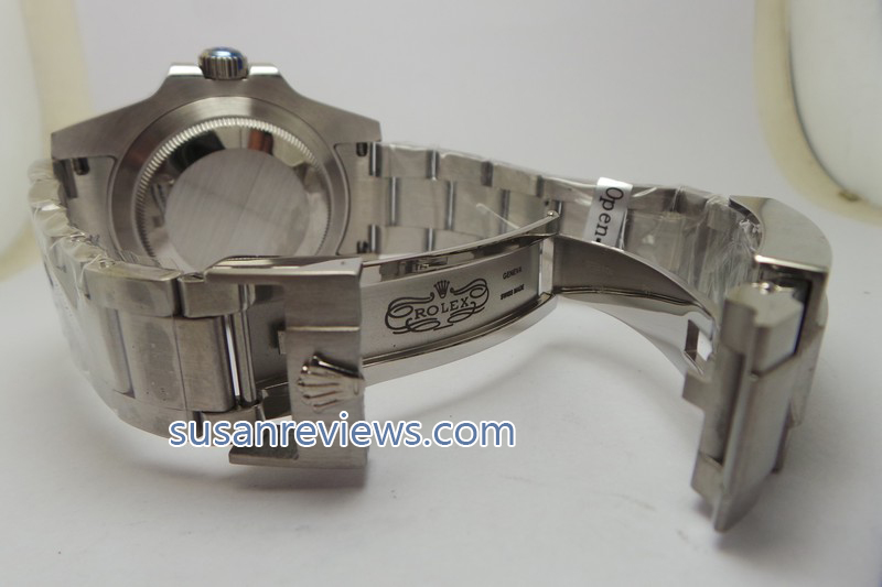 Blacken Rolex Clasp Engraving