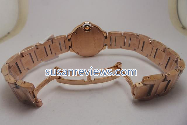 Cartier Rose Gold Clasp
