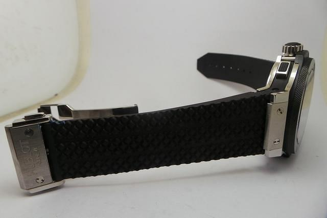 Hublot Black Rubber Strap