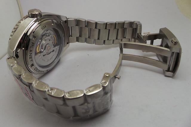 Omega Planet Ocean Stainless Steel Bracelet