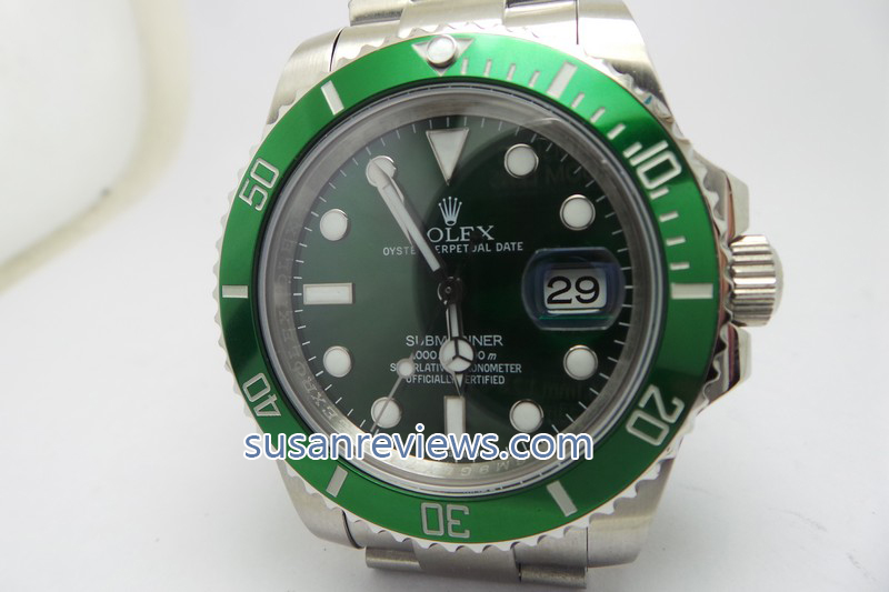 Replica Rolex Submariner 116610LV Green Watch