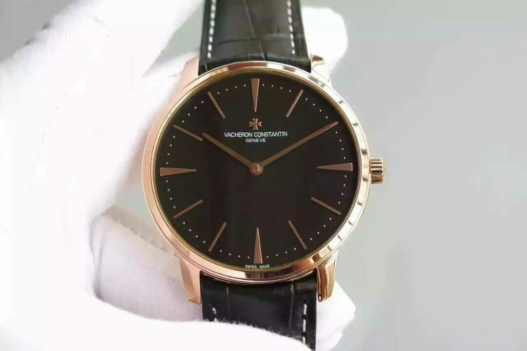 Replica Vacheron Constantin Patrimony Rose Gold Watch