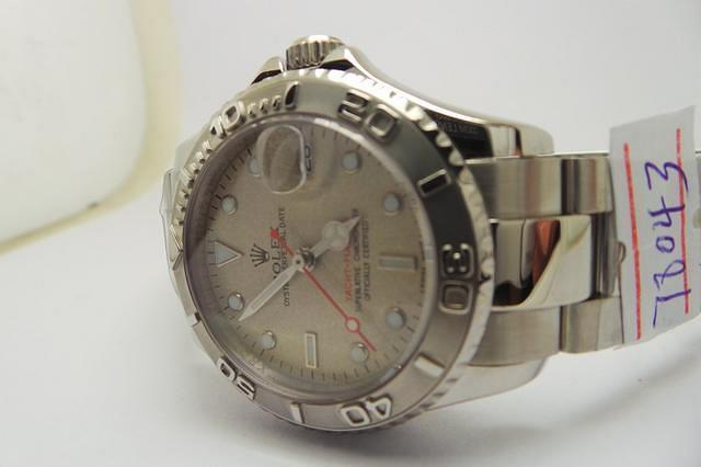 Rolex Yachtmaster Rolesium Grey Dial