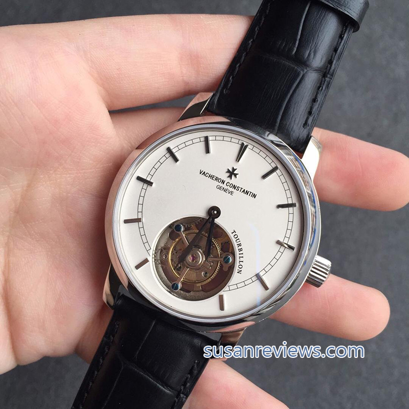 Vacheron Constantin TRADITION NELLE Tourbillon White Dial