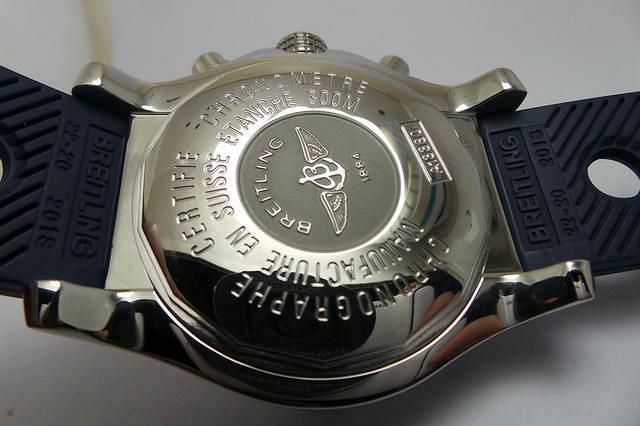 Breitling Avenger Case Back