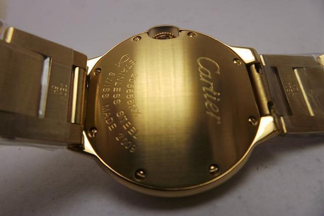 Cartier Ballon Bleu Case Back