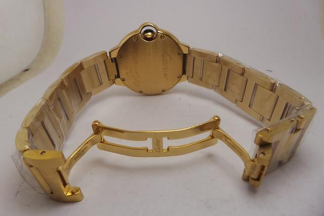 Cartier Ballon Bleu Yellow Gold Clasp