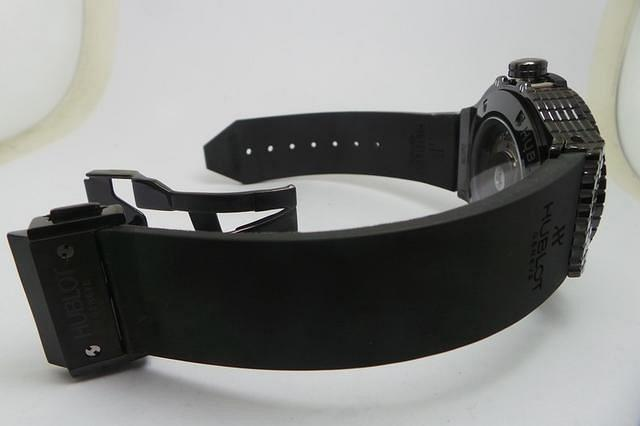 Hublot Black Cavair Black Rubber