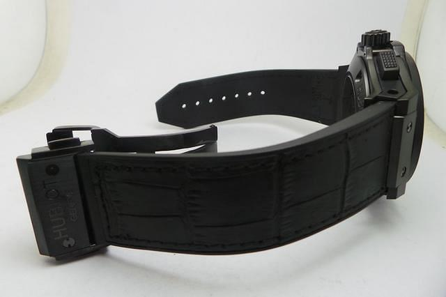 Hublot Black Leather Strap