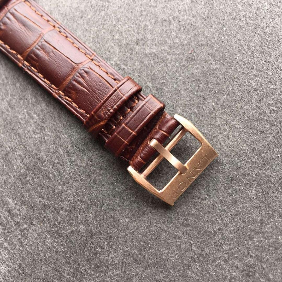 Lange Brown Leather Strap