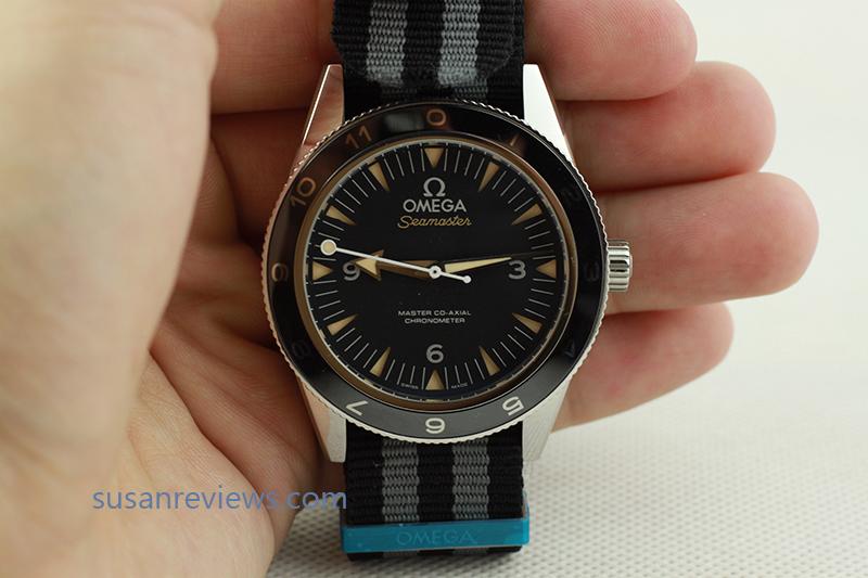 Omega Spectre Black Dial