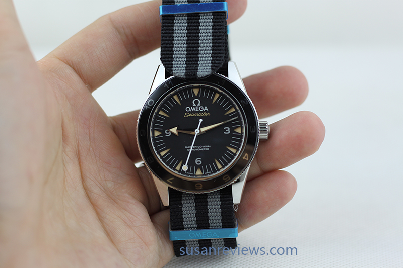 Replica Omega Spectre with Nato Strap