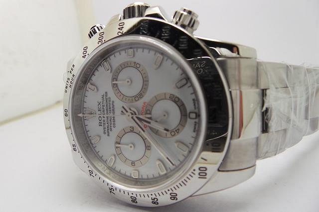 Rolex Daytona White Stainless Steel