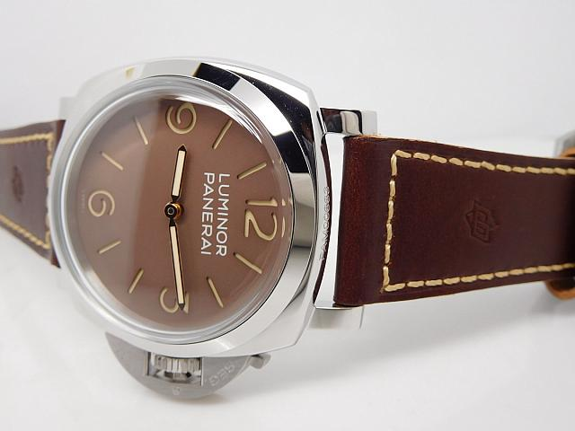 Panerai Brown Leather Strap