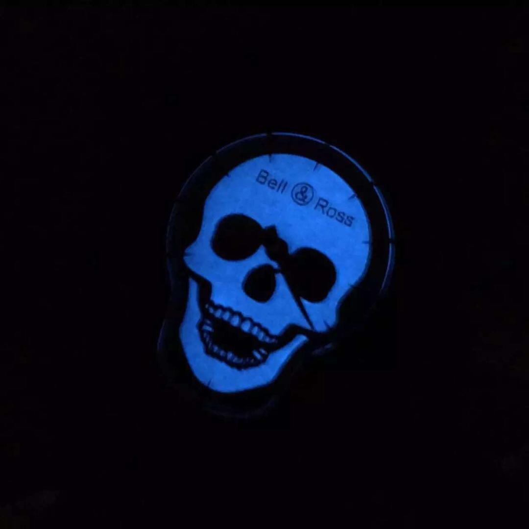 Bell Ross Skull Dial