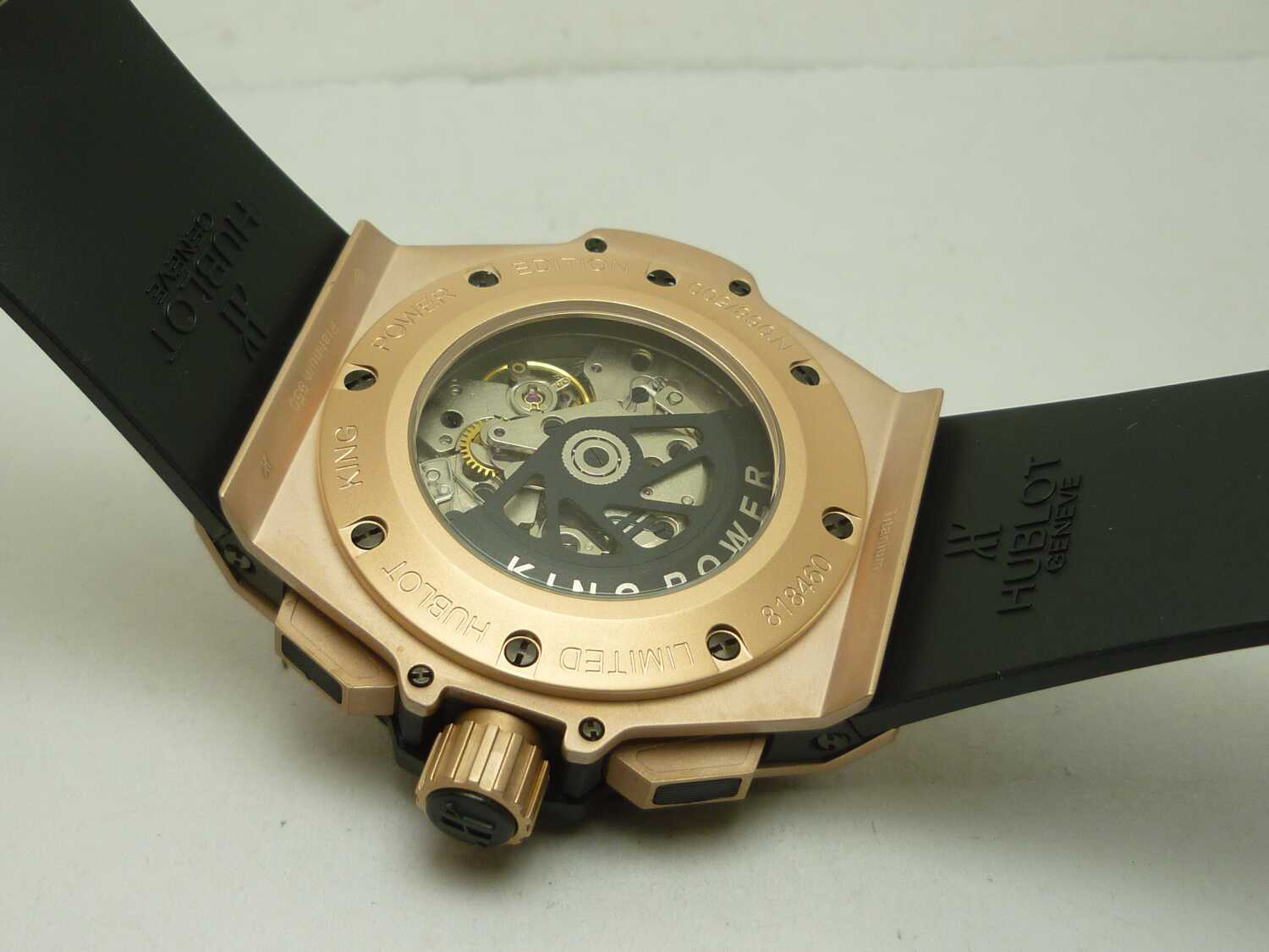 Hublot Unico Crystal Back
