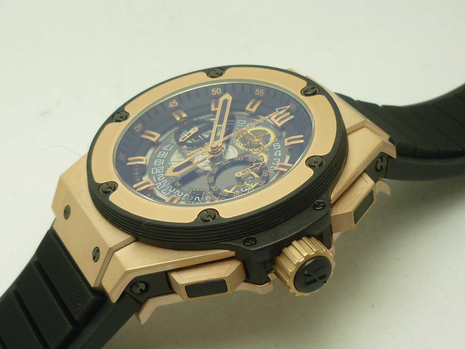 Replica Hublot Unico Rose Gold