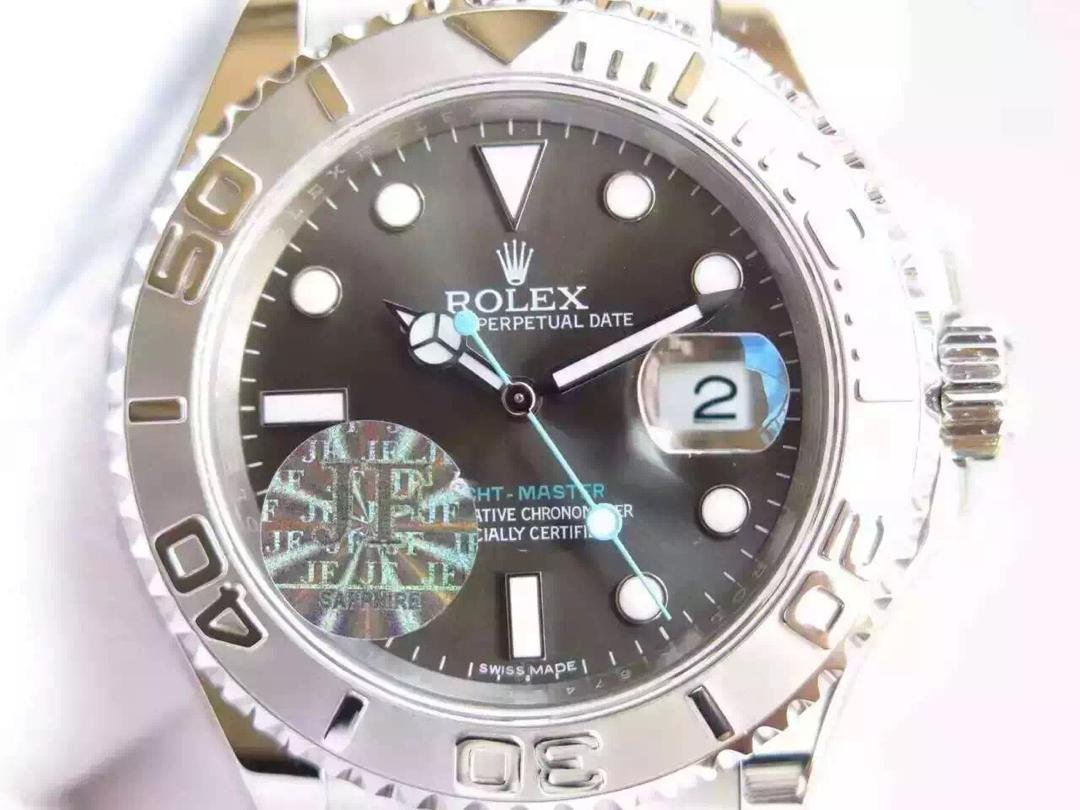 Rolex YachtMaster 116622 Grey Dial