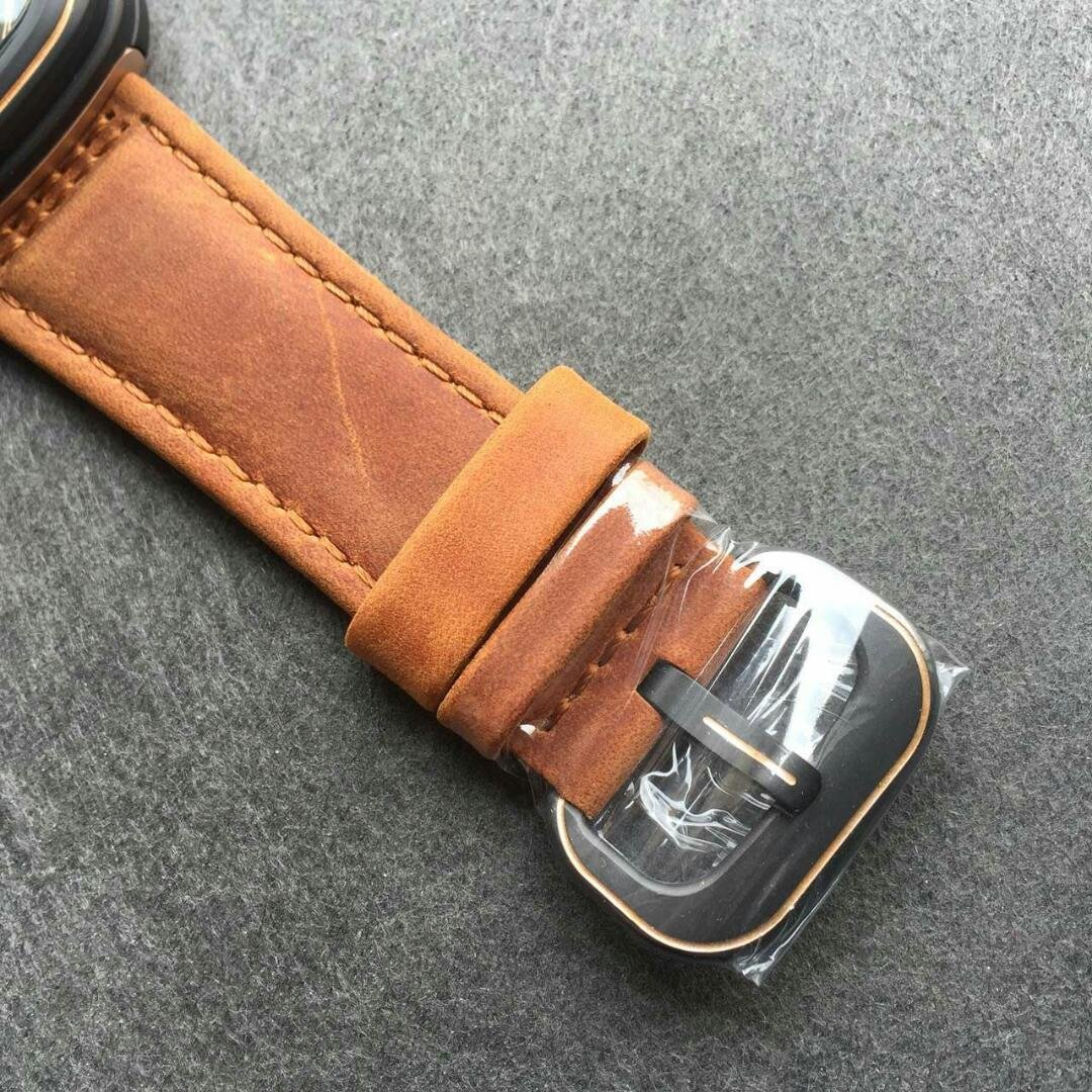 SevenFriday Brown Leather Strap