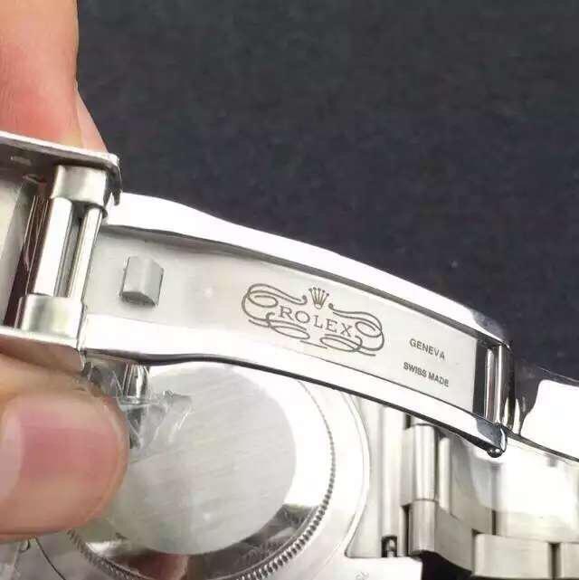 Rolex 116719-BLRO Clasp Engraving