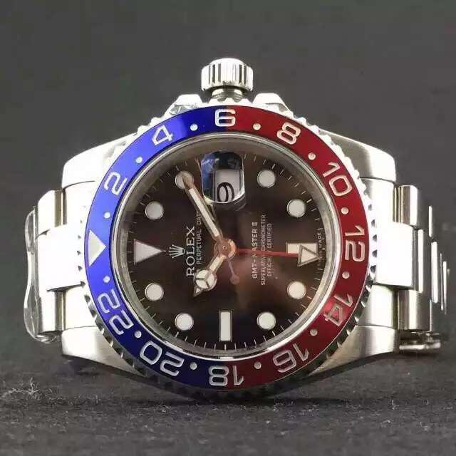 Rolex GMT Master II Replica Blue Red