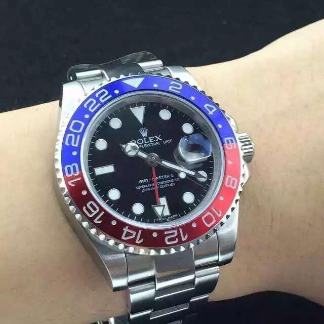 Rolex GMT Master II Replica Wrist Shot