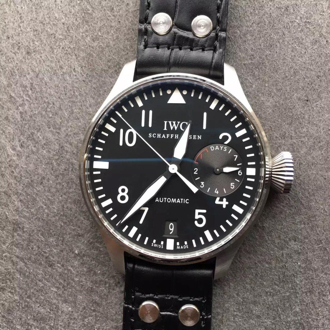 IWC Big Pilot IW500901 Black Dial