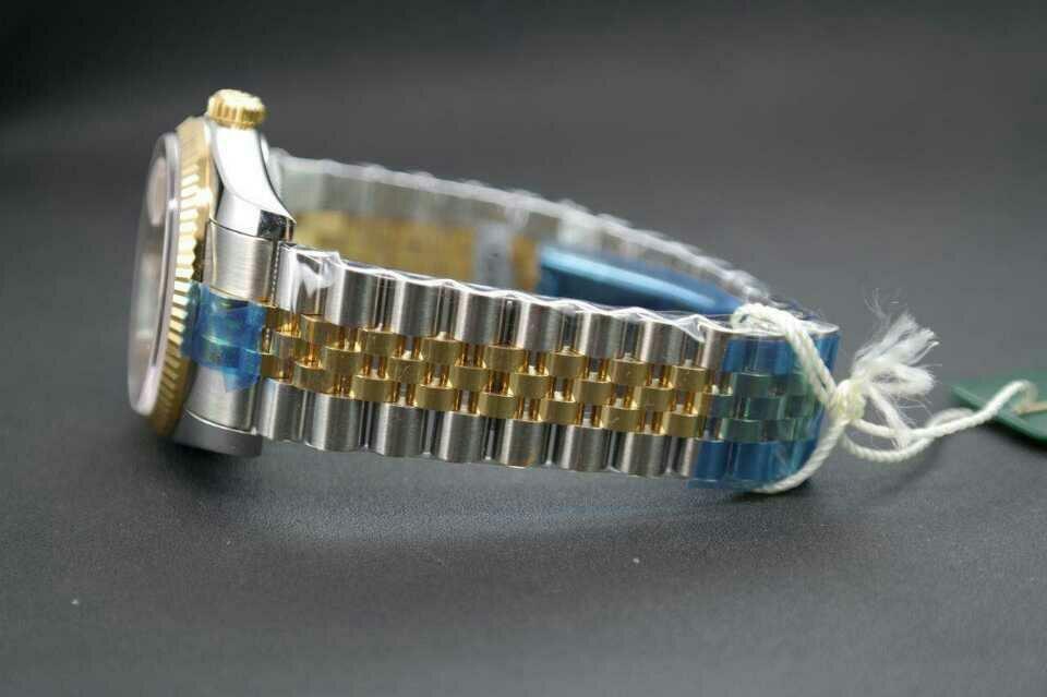 Rolex Datejust Champagne Gold Bracelet