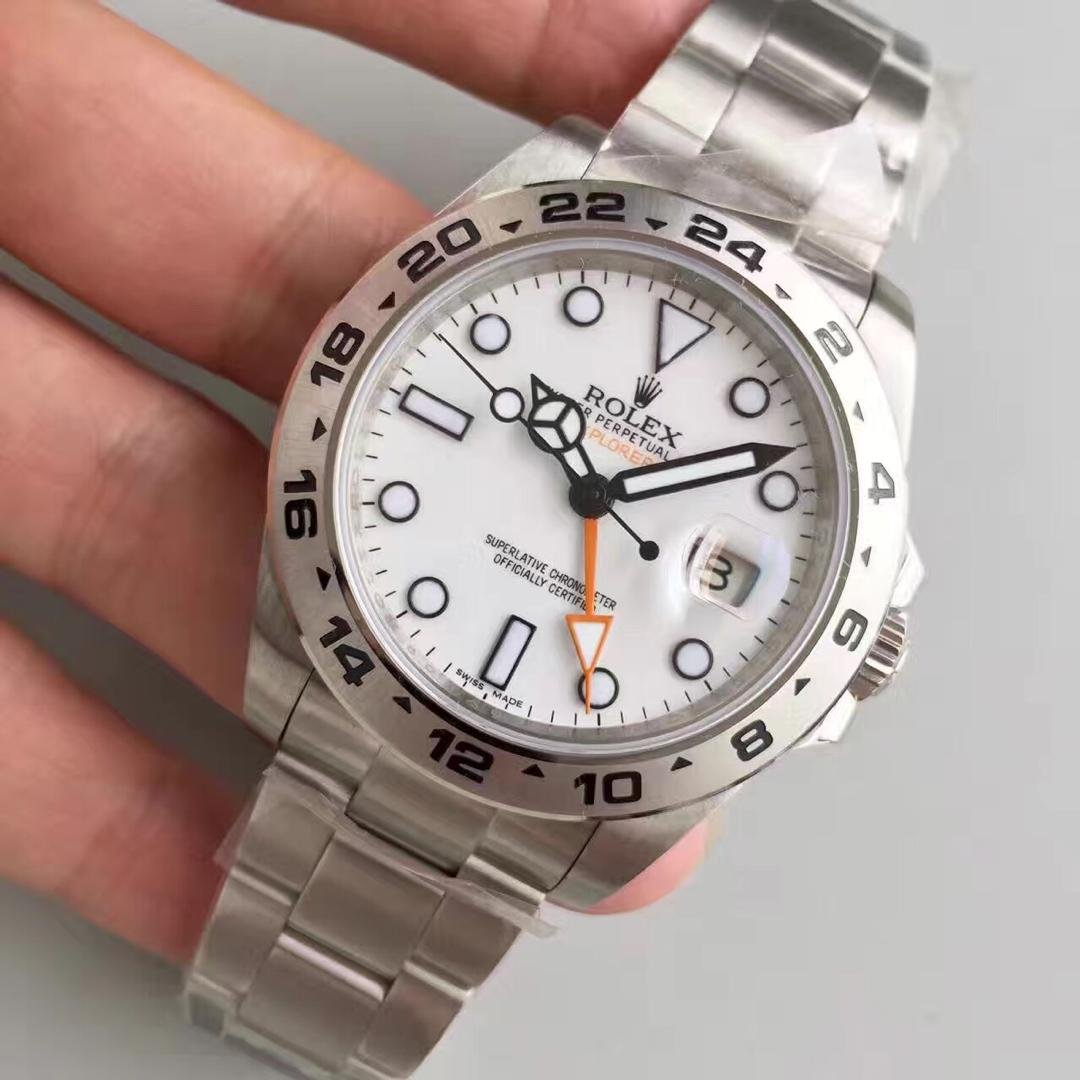 Rolex Explorer II 216570 Orange Hand