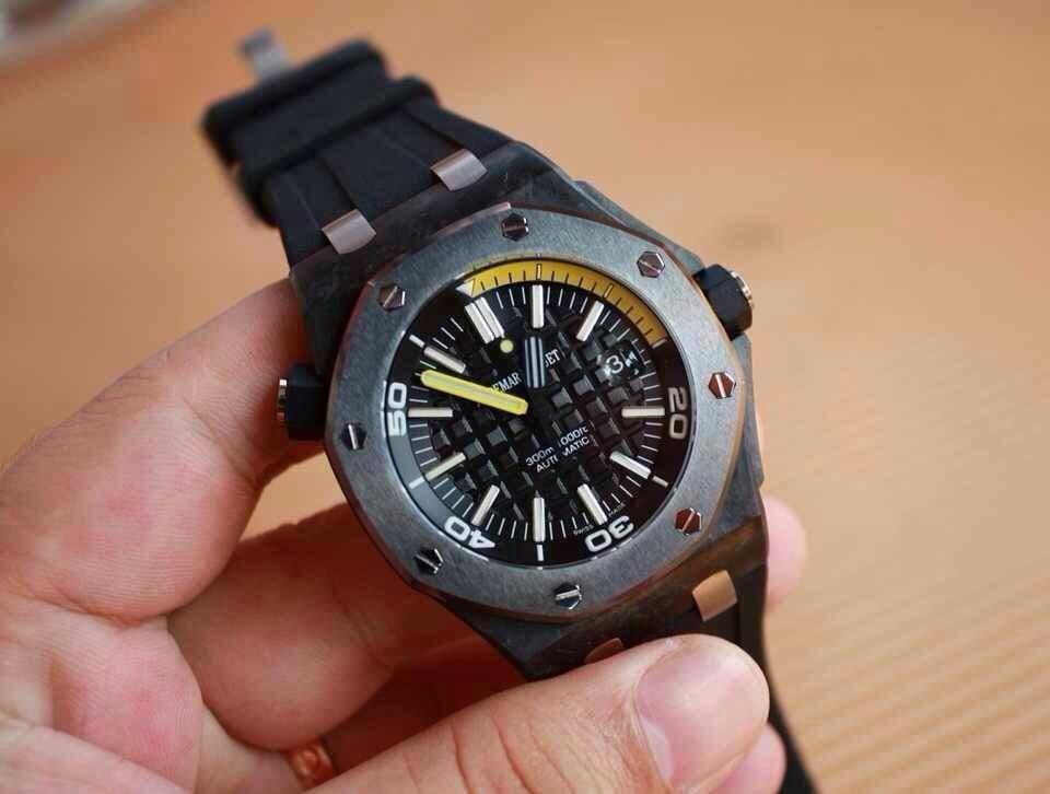 Best Audemars Piguet Carbon Watch
