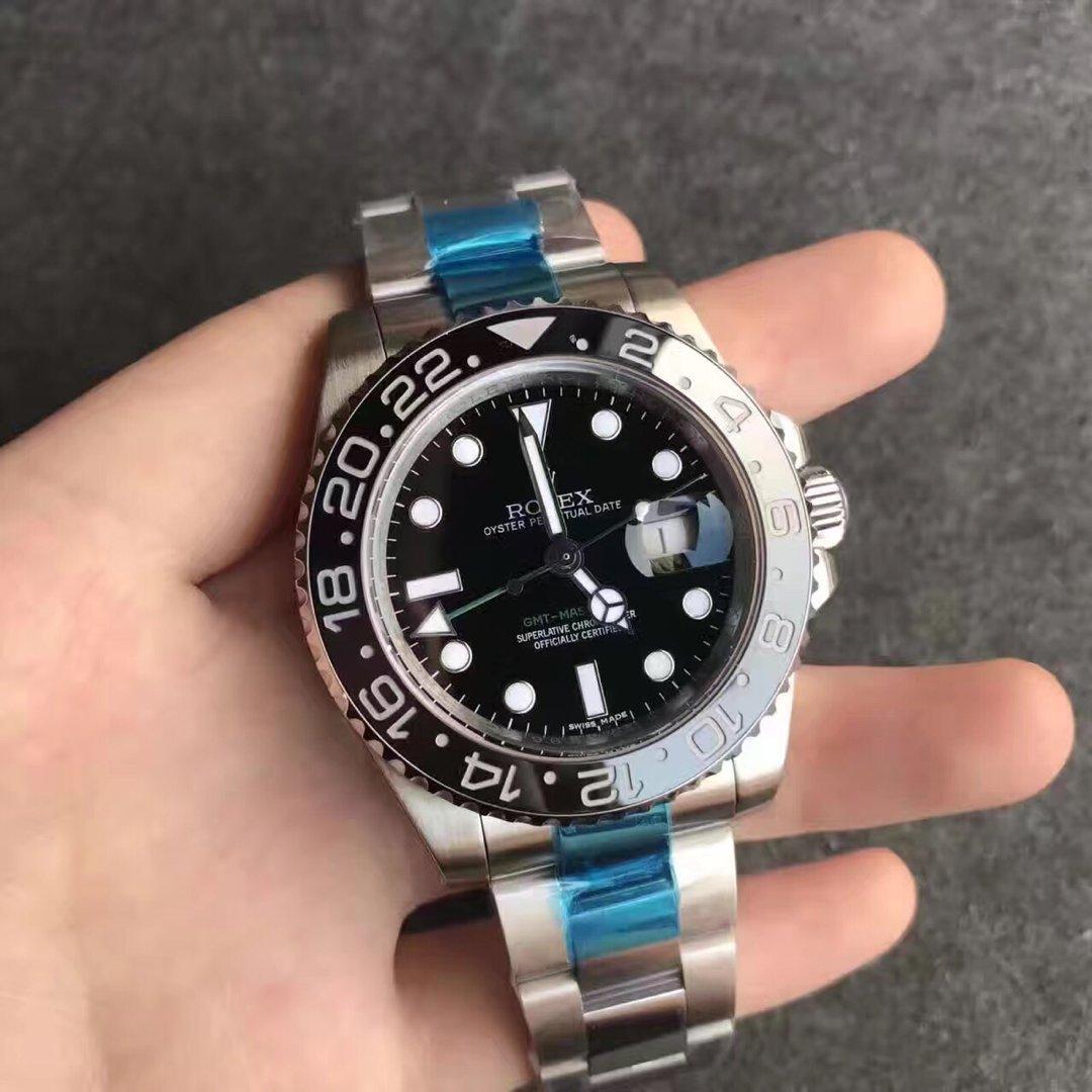 Replica Rolex GMT Master II 116710LN Black Bezel