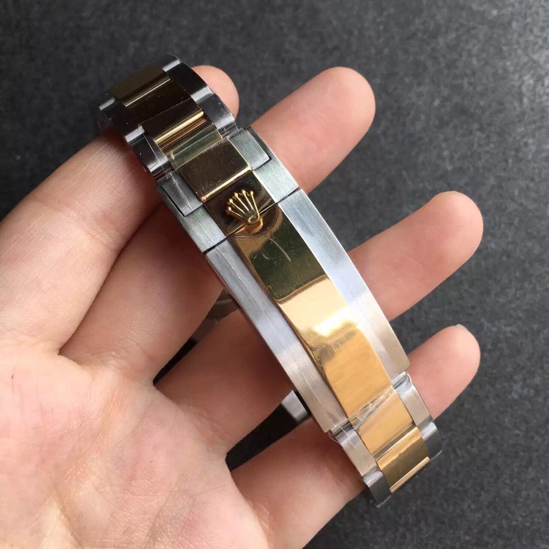 Replica Rolex Submariner 116613LN Two Tone Bracelet
