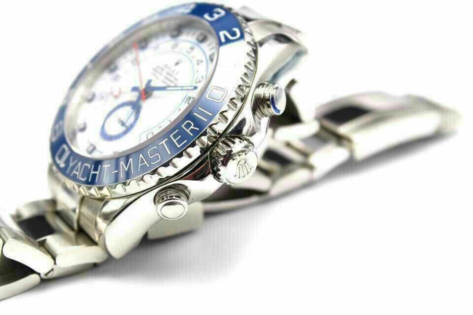 Replica Rolex Yacht-Master II 116680 Crown