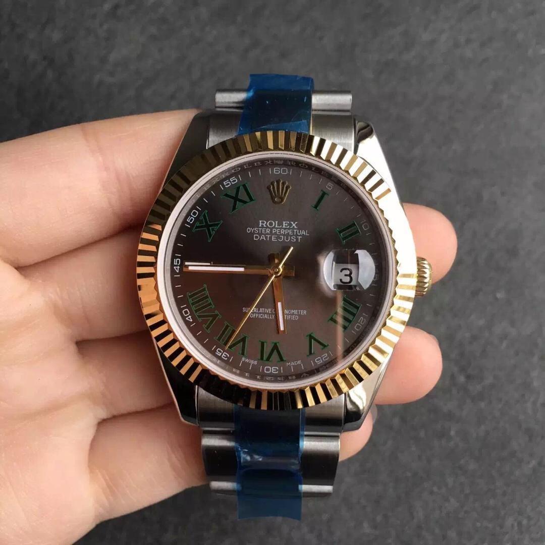Rolex Datejust II Green Rome Replica