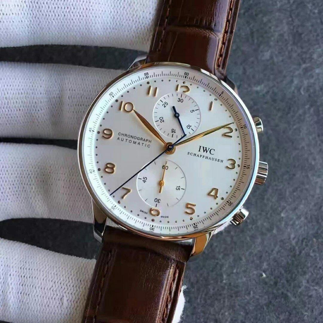 Replica IWC Portuguese IW371445 White Dial