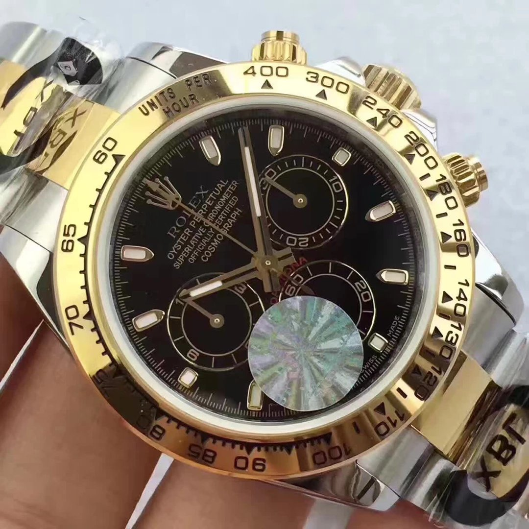 Rolex Daytona Black Dial