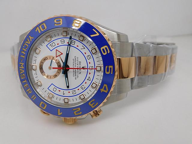 Rolex YachtMaster II 116681 Blue