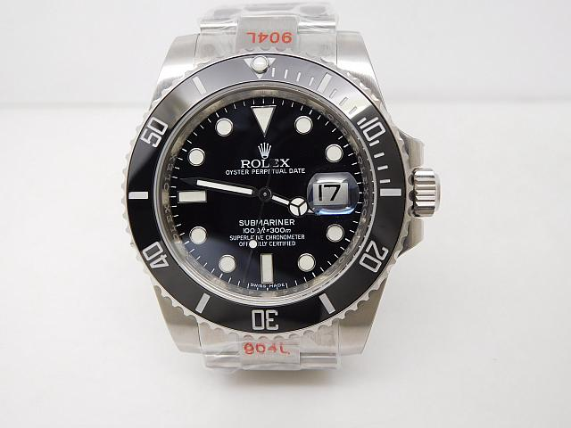 Noob V8 Rolex Submariner Black