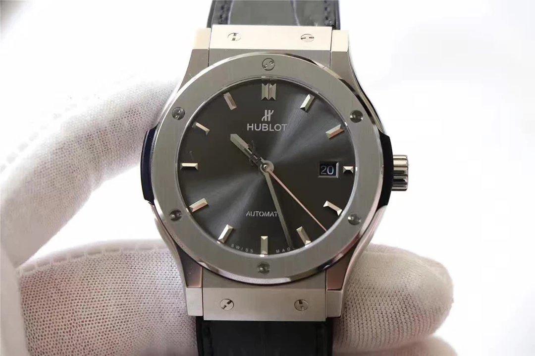 Replica Hublot Classic Fusion Titanium Grey