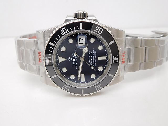 V8 Rolex Submariner 116610 Black