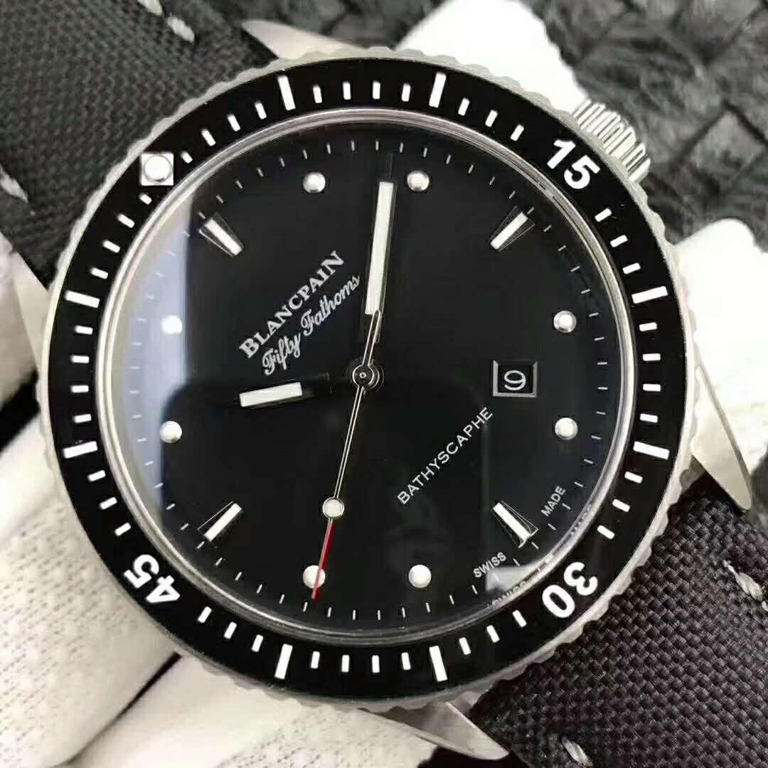 Blancpain Bathyscaphe Black Dial