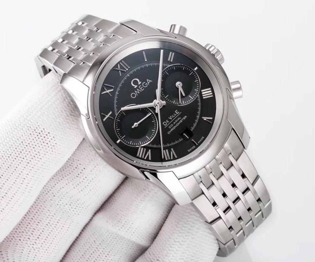 Replica Omega De Ville Stainless Steel Watch