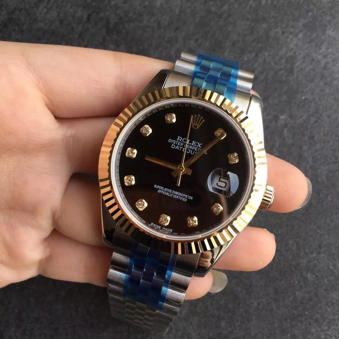 Replica Rolex 41mm Two Tone Watch