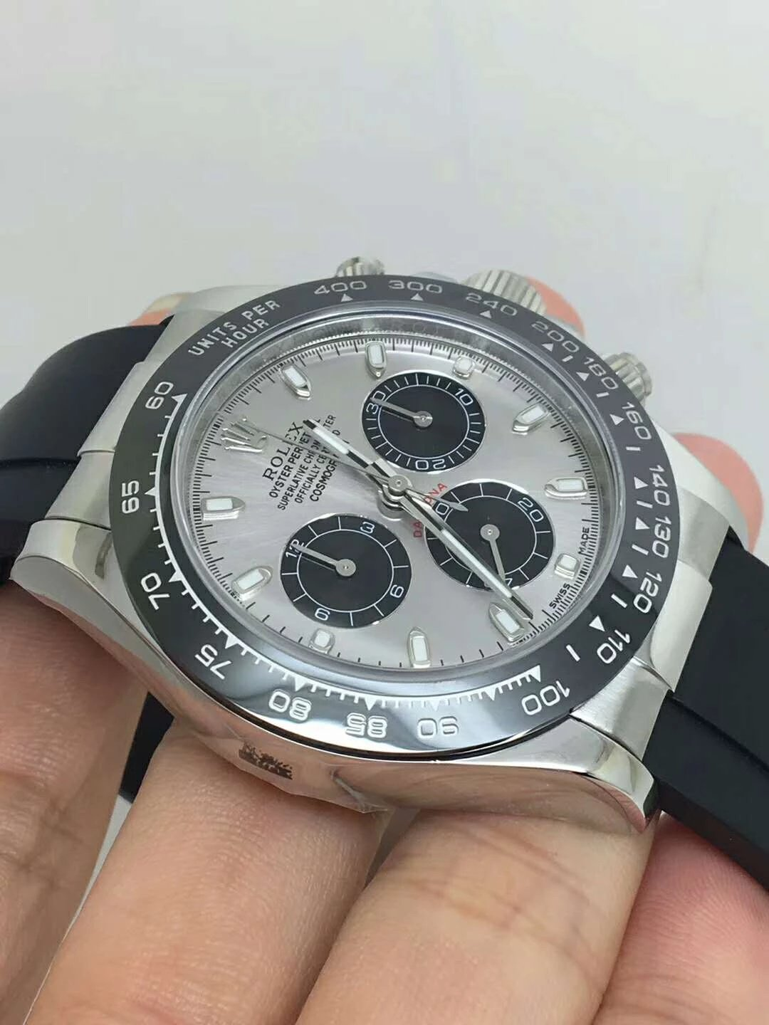 Replica Rolex Daytona Black Ceramic Bezel