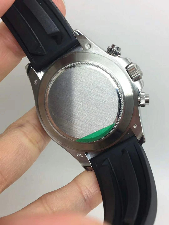 Replica Rolex Daytona Grey Case Back