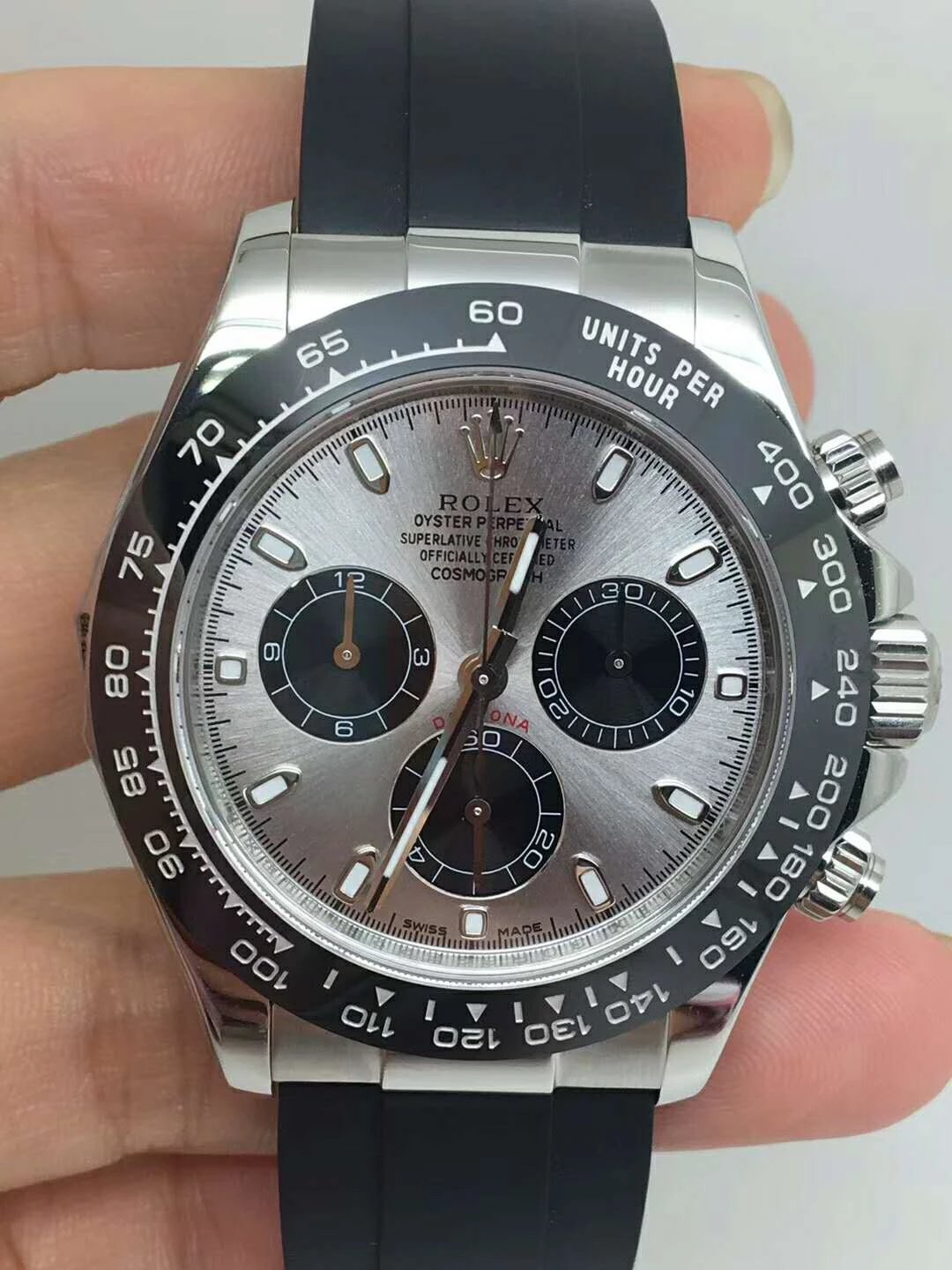 Replica Rolex Daytona Grey