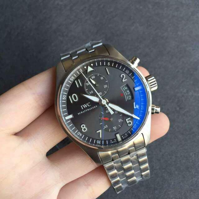 ZF Replica IWC Spitfire Steel Watch