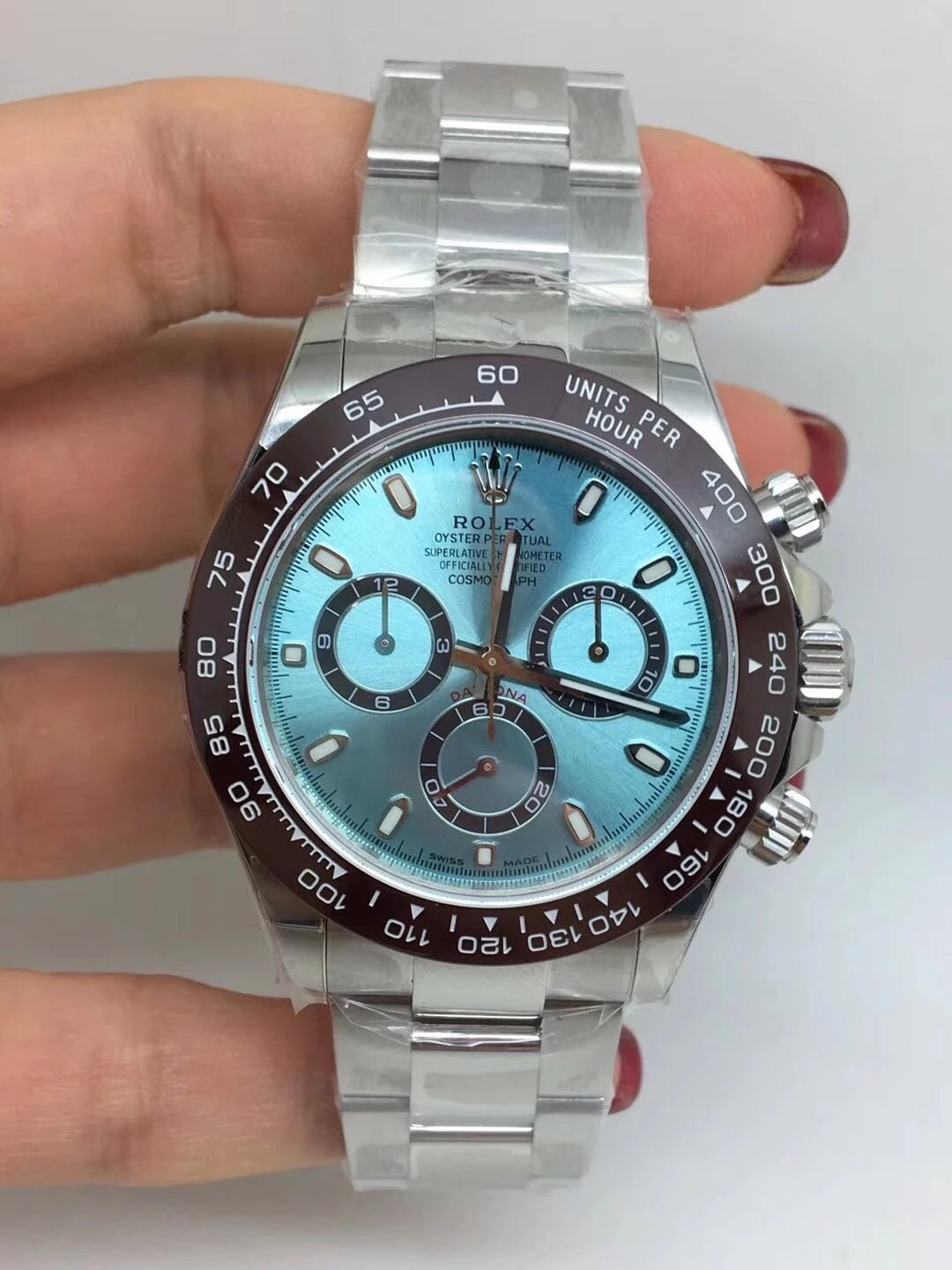 Noob Replica Rolex Daytona Ice Blue