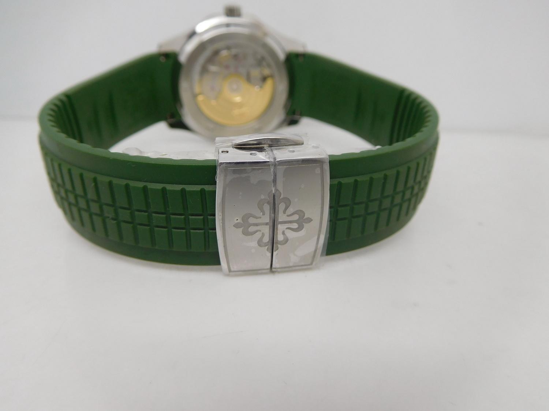 Patek Philippe Aquanaut 5167 Green Rubber