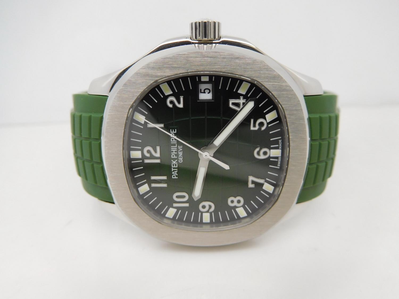 Replica Patek Philippe Aquanaut 5167 Green